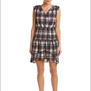 Ali & Jay Gray and Red Plaid Dress